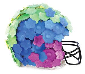 Helmet by Alexis Bittar.
