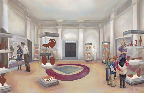 Buie gallery rendering
