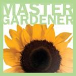Ad for Master Gardener Series, big sunflower with border