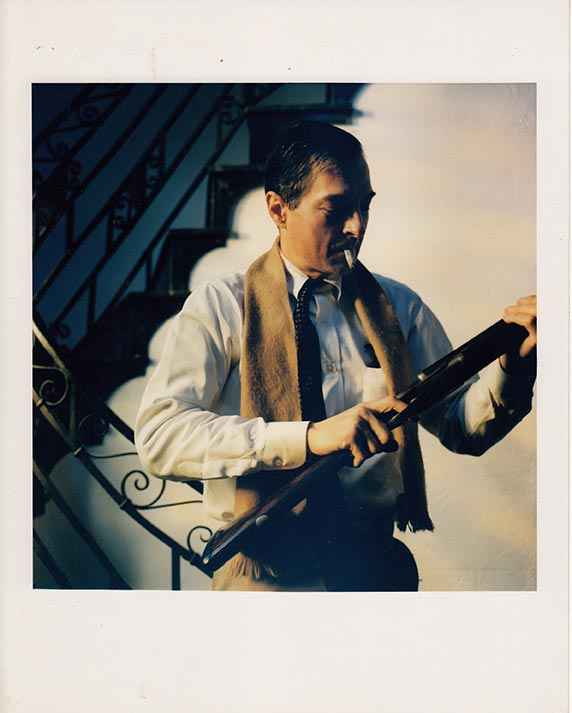 "Maude Schuyler Clay William Eggleston with Gun, Memphis 1988 Archival inkjet print 16"" x 20"""