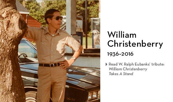 William Christenberry, 1936–2016