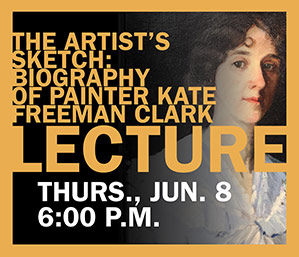 Kate Freeman Clark lecture
