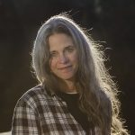 photo of Sally Mann outside