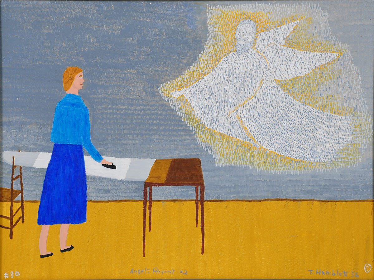 Angel's Request #2, 1956, by Theora Hamblett.