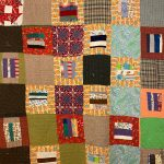 "Photo of quilt from ""The Tradition of African American Quilt Making"""