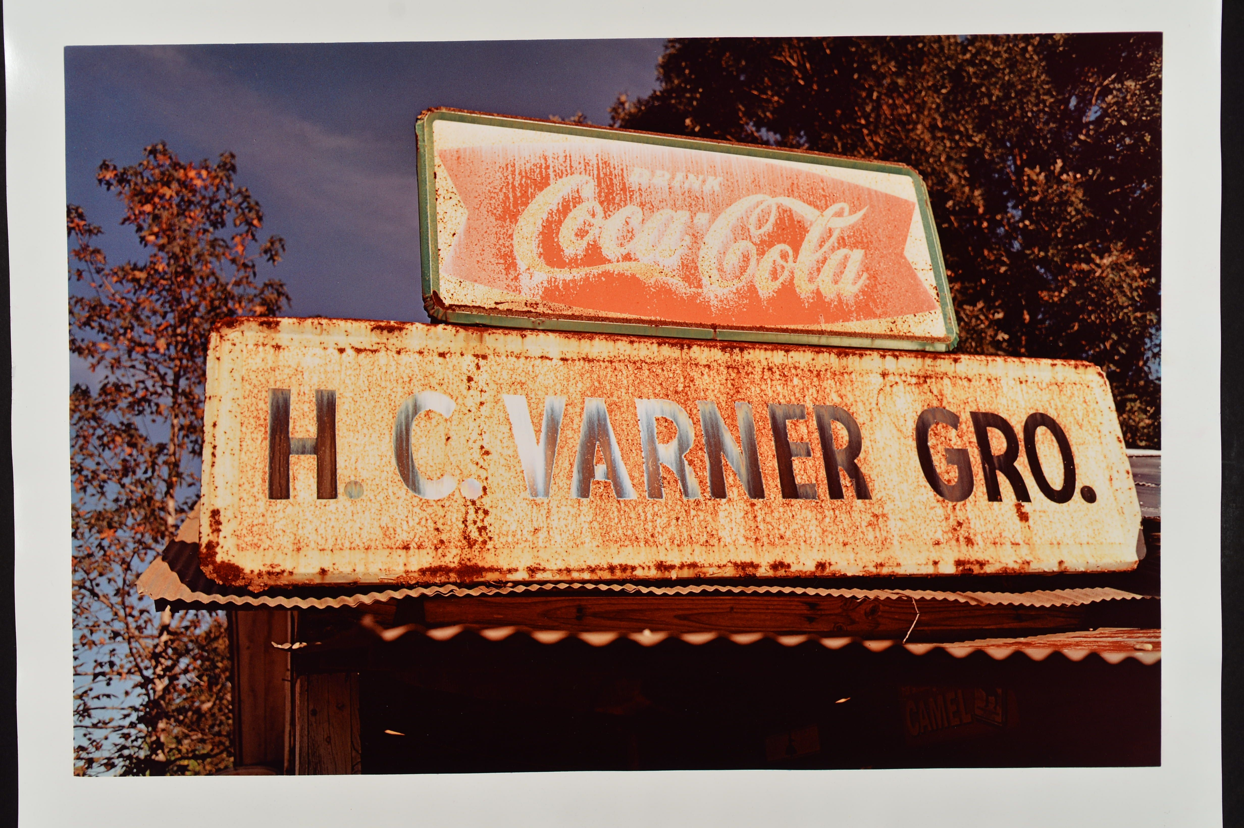 1982.1.4 (Hc VARNER Groc Sign) RAW 221