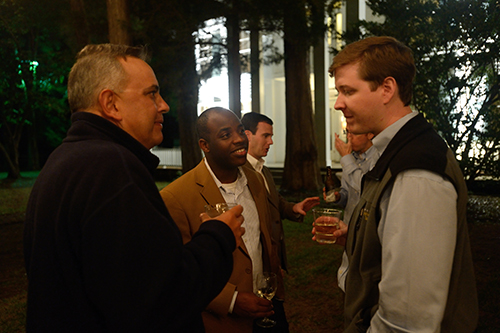 Event at Rowan Oak to welcome the new museum director.  Photo by Kevin Bain/Ole Miss Communications