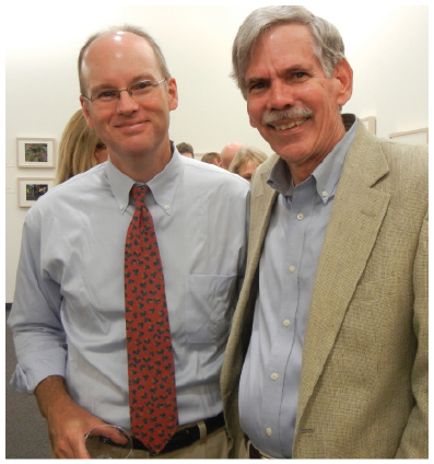 (Left to right) Dr. Jay Watson and Dr. Ed Croom