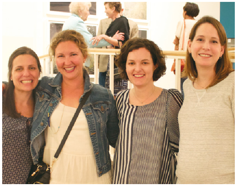 (Left to right) Katherine Beard, Lane McCluer, Kathleen Robbins, and Christine Waldrup
