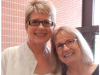 (Left to right) Vikki Hughes  and Kay Croom