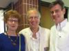 (Left to right) Mary Edith Walker, Bob Pekala,  and Jason Bouldin